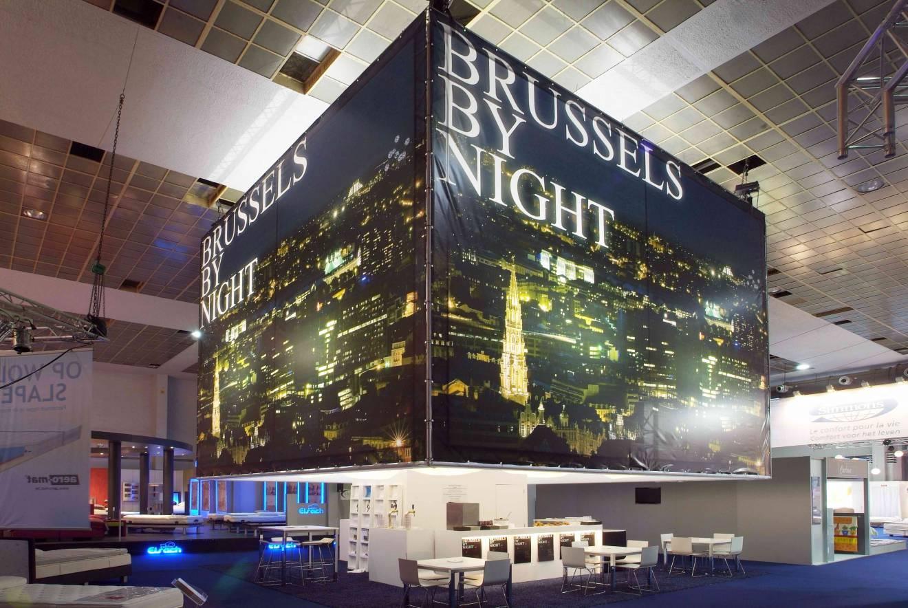 Cadres imprimés en grand format Brussels, Cadre, toile X-Treme Creations