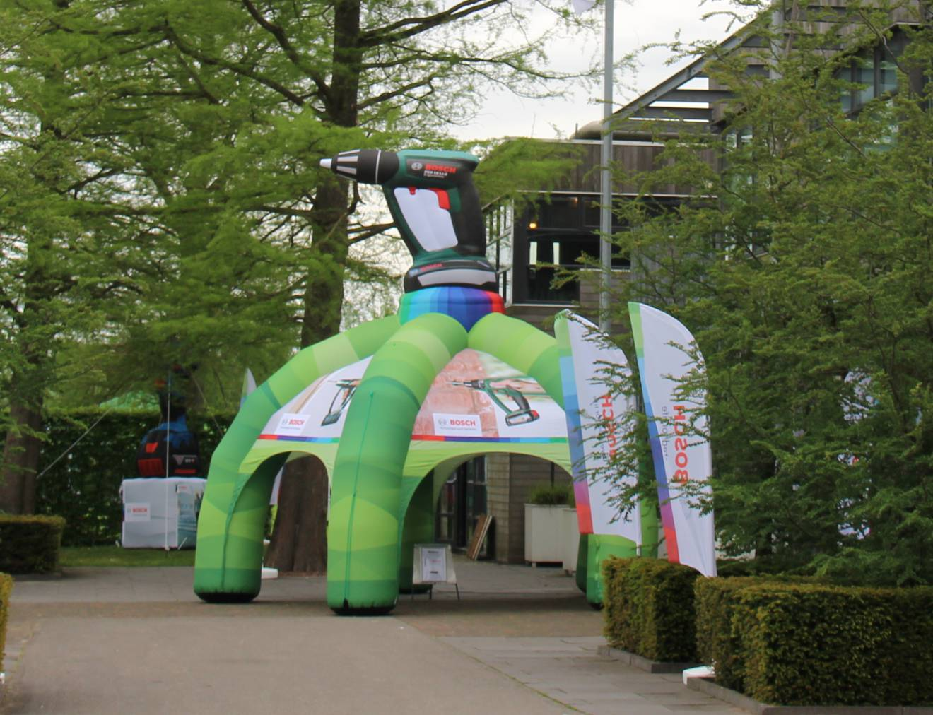 Giant inflatable tenten  Bosch, tenten X-Treme Creations