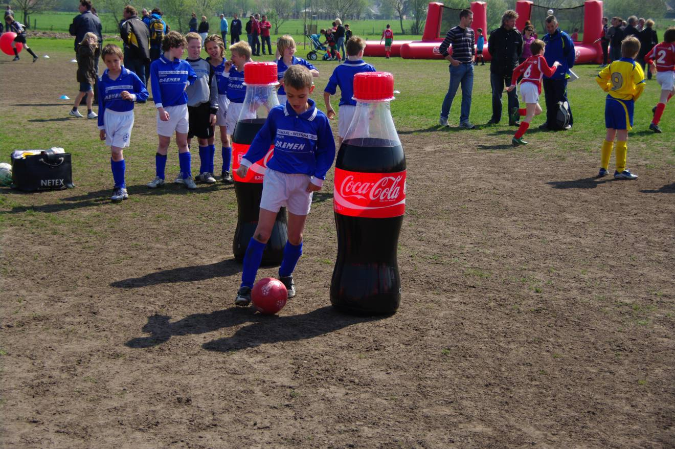 Miniature airtight inflatable productvergrotingen Coca Cola, productvergrotingen X-Treme Creations