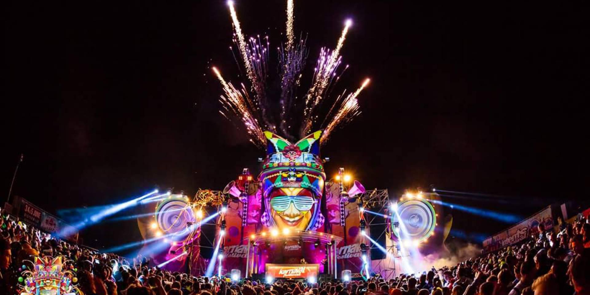 X-Treme Creations Carnaval gezicht