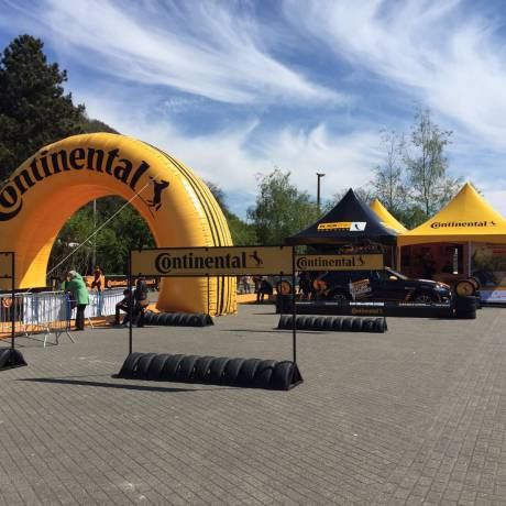 Merkactivatie Merkbekendheid optimaliseren Boog, bogen, continental X-Treme Creations