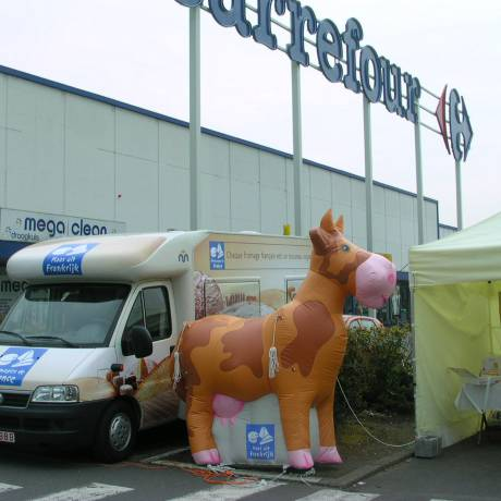 POS/POP Inflatable as point of sale material storepoint, sampling action X-Treme Creations