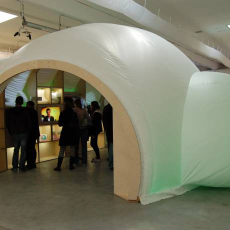 Artistiques L'art et le marketing se retrouvent igloo,stand X-Treme Creations