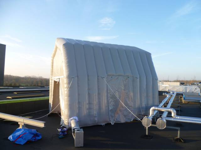 Industry Inflatable objects as solution technology, event sector, frame, tent X-Treme Creations