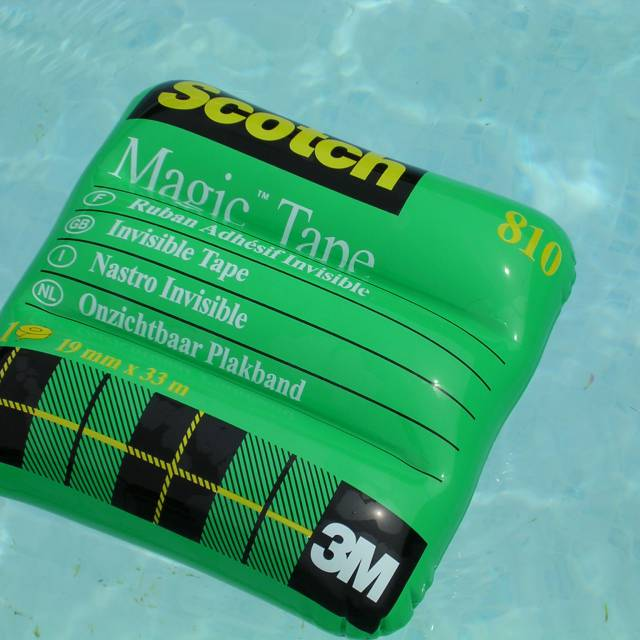 Miniature airtight inflatable matrassen Scotch magic tape, magic tape, magische tape, transparante tape, plakband X-Treme Creations