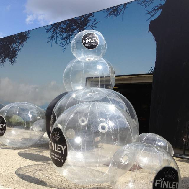 Giant inflatable spheres balls, inflatable balls, Finley X-Treme Creations