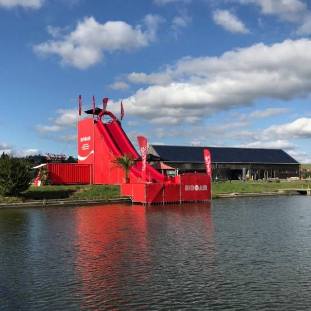 Giant inflatable games Coca-Cola slide, X-Treme Creations