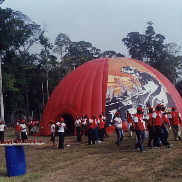 Giant inflatable standen sport, kraam, stalletje, stand, tent, verkooptent X-Treme Creations
