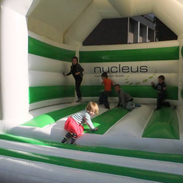 Bouncer Nucleus Giant inflatables X-Treme Creations