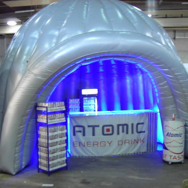 Giant inflatable standen kraam, stalletje, stand, tent, verkooptent X-Treme Creations
