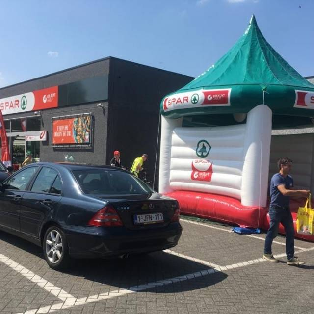 Giant inflatable games Bouncy Castle, Inflatable Game, Attraction, Spar X-Treme Creations
