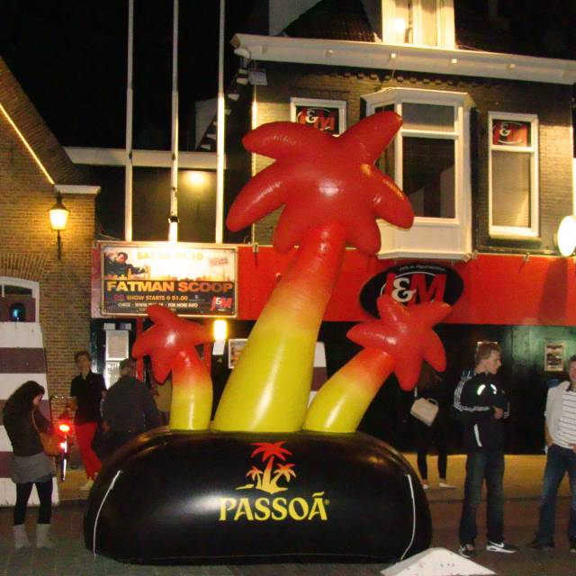 Giant inflatable logos Passoa, company logo, brand logo, inflatable logo X-Treme Creations