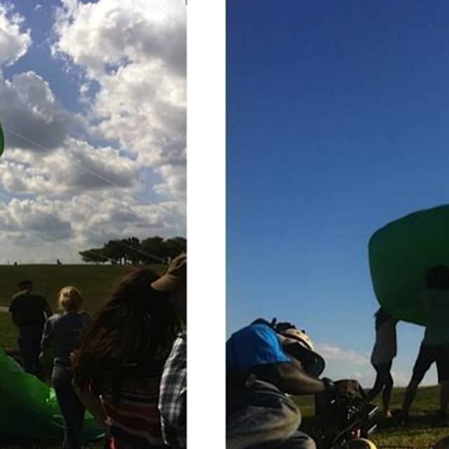 Mobistar animal kites Giant inflatables X-Treme Creations