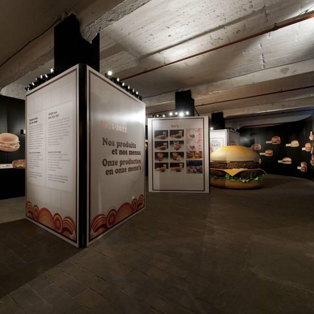 Large format print panelen Cheeseburger, Panelen, wandpaneel, borden, plaat X-Treme Creations