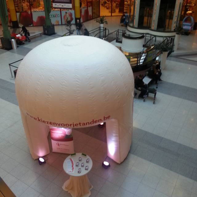 Giant inflatable standen shoppingcenter, kraam, stalletje, stand, tent, verkooptent X-Treme Creations