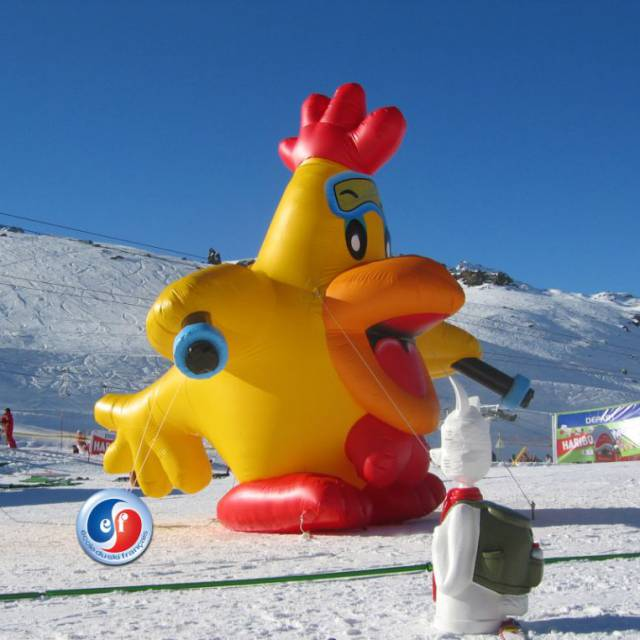 Big inflatable animals beasts, inflatable beasts, monsters, inflatable monsters, inflatable animals, Chickens, Rooster X-Treme Creations