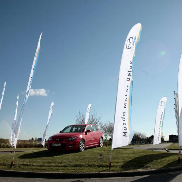 Large format print flags Mazda, Flags, Printed Flags X-Treme Creations