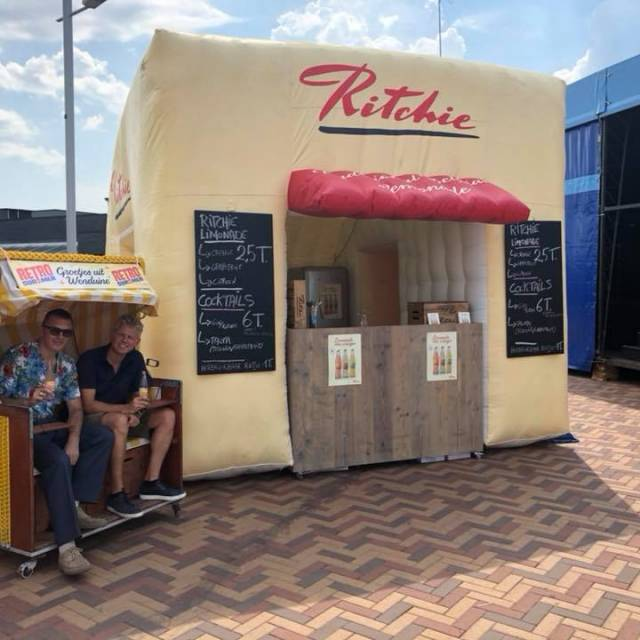 Giant inflatable standen Stand, opblaasbare stand, Ritchie, Limonade, opblaasbare verkoopstand X-Treme Creations
