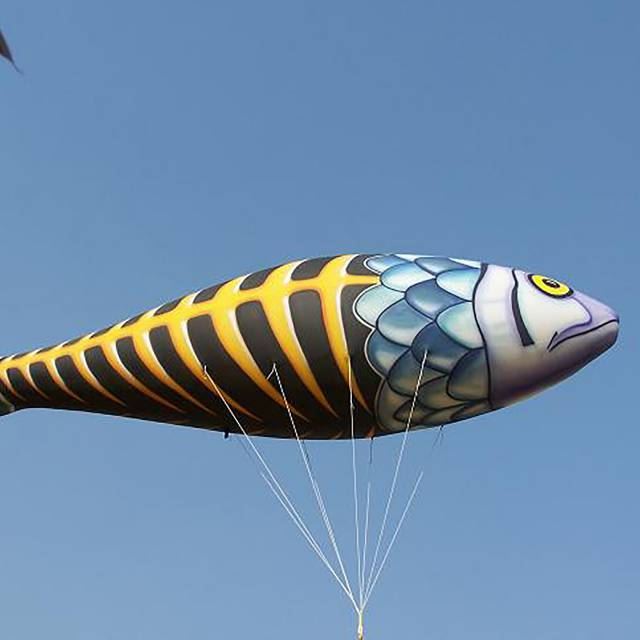 Giant inflatable helium structures fish, helium inflatable X-Treme Creations