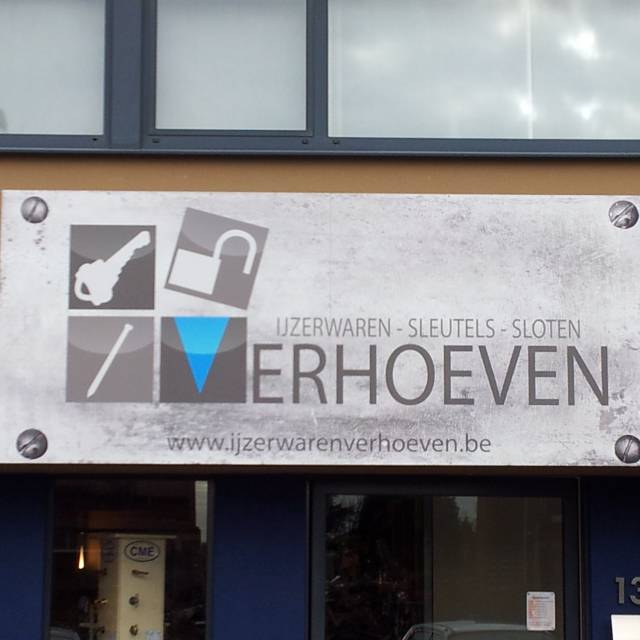 Large format print panels Verhoeven, Panels, wall panel, plate X-Treme Creations