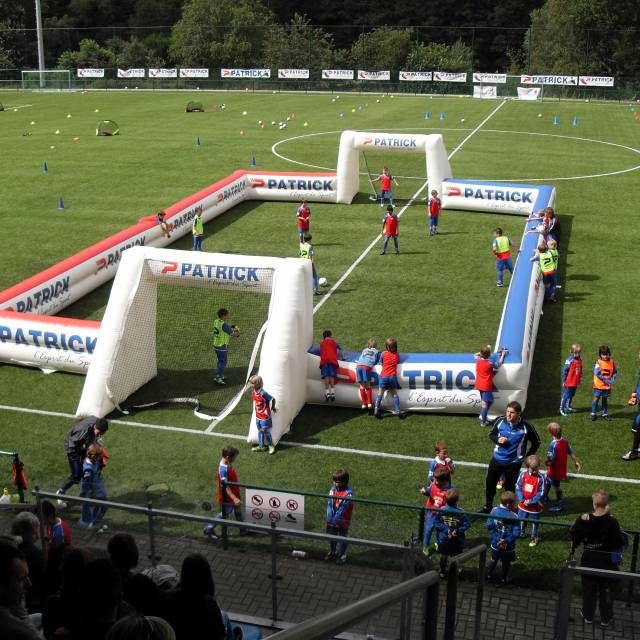 Giant inflatable games Soccer, Football, Inflatable Game structures, Children, Attractions X-Treme Creations