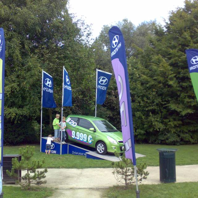 Large format print flags Hyundai, Flags, Printed Flags X-Treme Creations