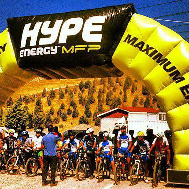 Giant inflatable arches Archway, Race Arches, Race Archways, HYPE, sport, Publicity arch, Advertising arches X-Treme Creations