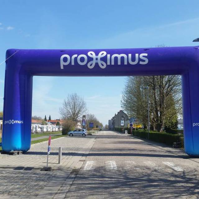 Fail-Safe Inflatable Arches Finish line arch, Archway, Race Arches, Race Archways, Publicity arch, Proximus X-Treme Creations