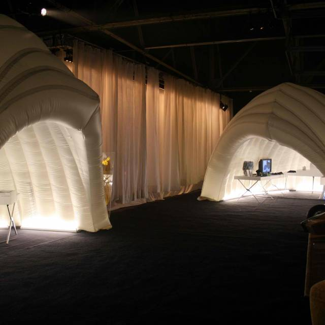 Giant inflatable standen restaurant, kraam, stalletje, stand, tent, verkooptent X-Treme Creations