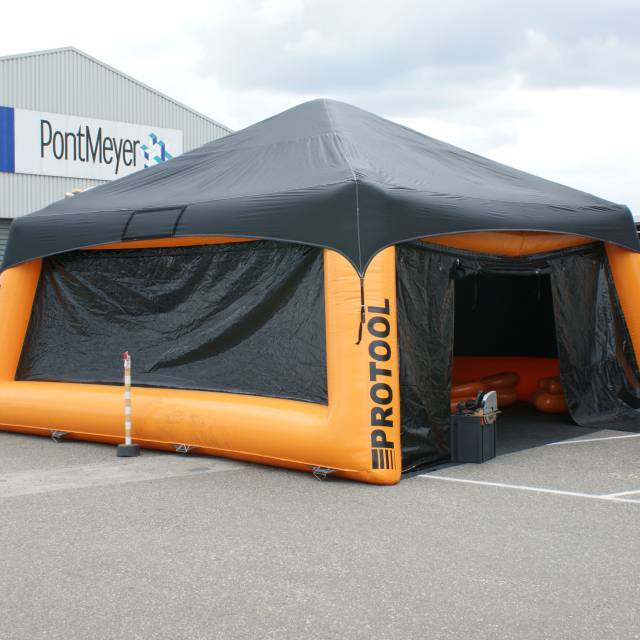 Giant inflatable tents Protool, tents X-Treme Creations