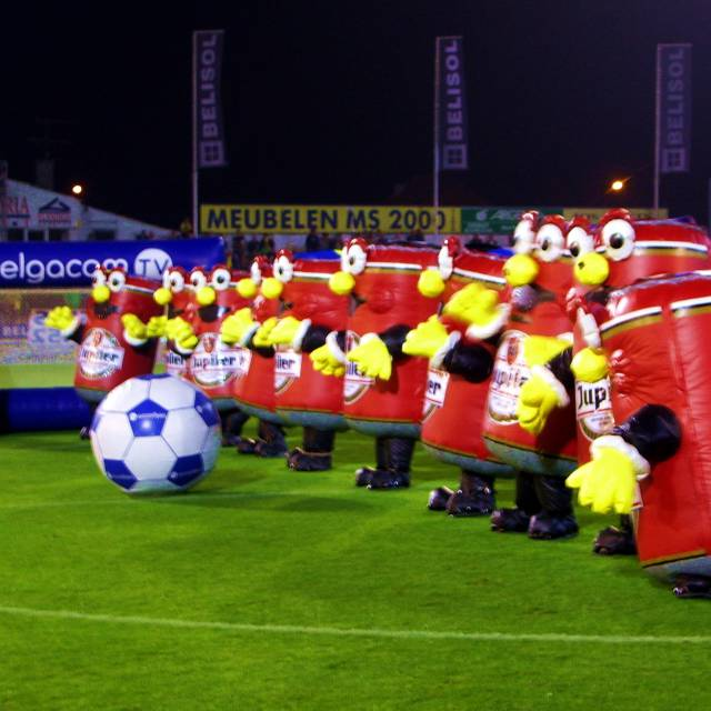 Giant inflatable costumes and walkers Football, soccer, dynamic, walkers, inflatable costume, fun animation costumes X-Treme Creations