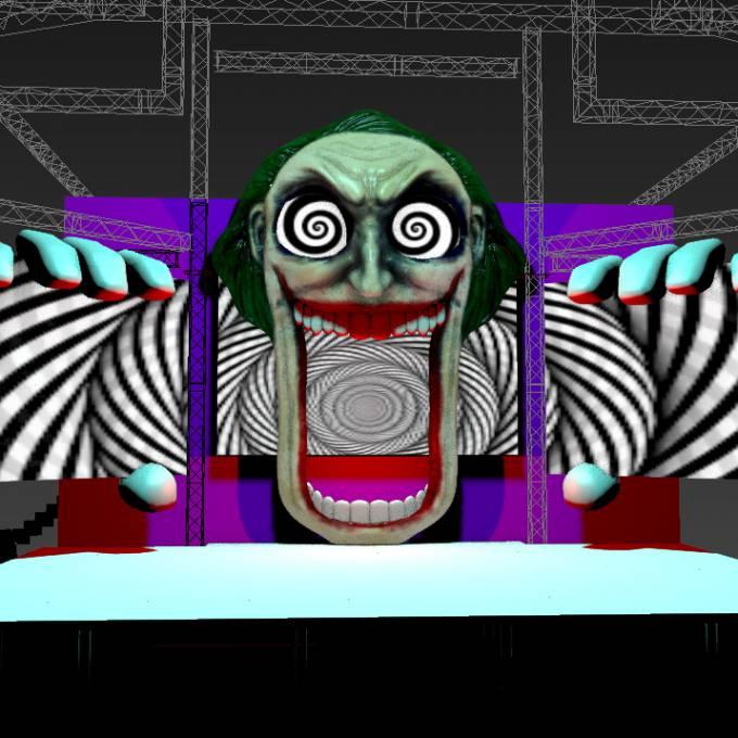Groot opblaasbaar promotiemateriaal | X-Treme Creations Events  & Festivals  &  Nick Royaards in opdracht van Dimitri Vegas & Like Mike X-Treme Creations