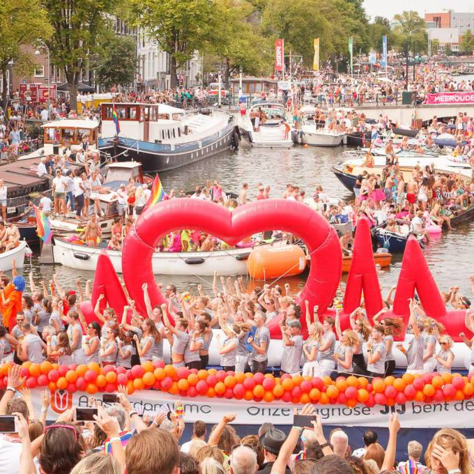 Large inflatable promotional material | X-Treme Creations Events  & Festivals  & Corporate branding  & Brand activation  &  Universitair Medisch Centrum Amsterdam  X-Treme Creations